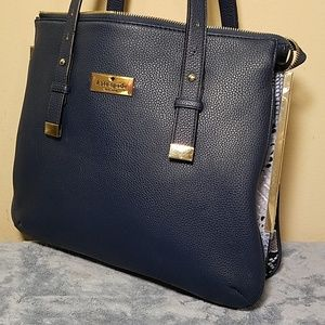 Exquisite Kate Spade Blue Pebbled Leather Purse!